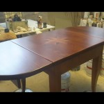 tavolo intarsiato allungato